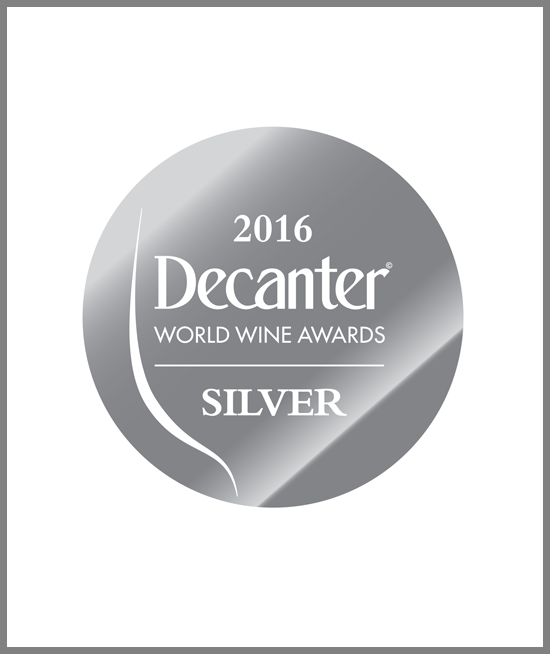Decanter World Wine Awards 16 - Silver Medal - Barolo 2012