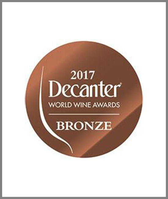 Decanter 2017 - BRONZE MEDAL - Bricco Magno 2013